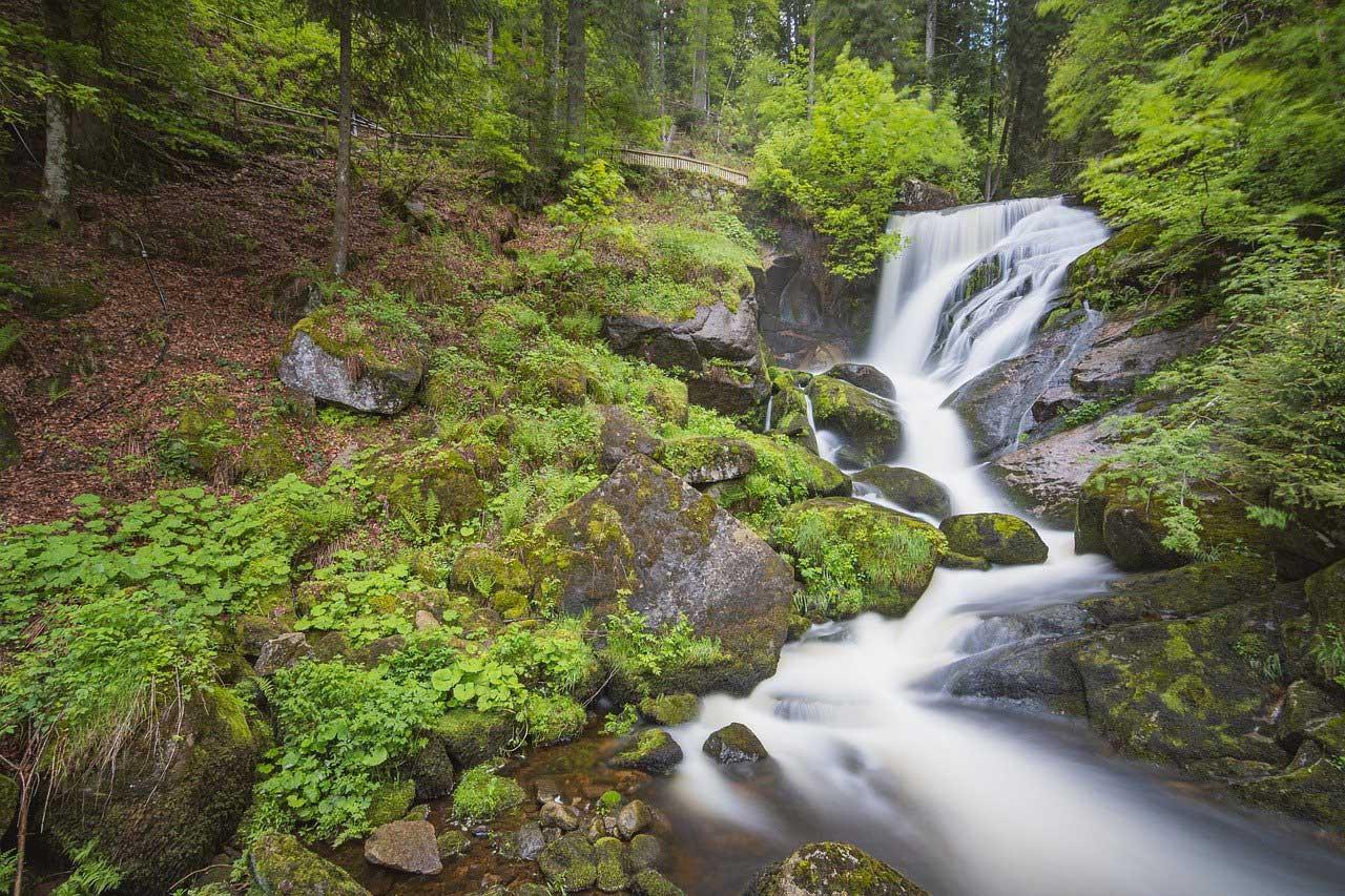 Reiseziel Deutschland Triberger Wasserfall