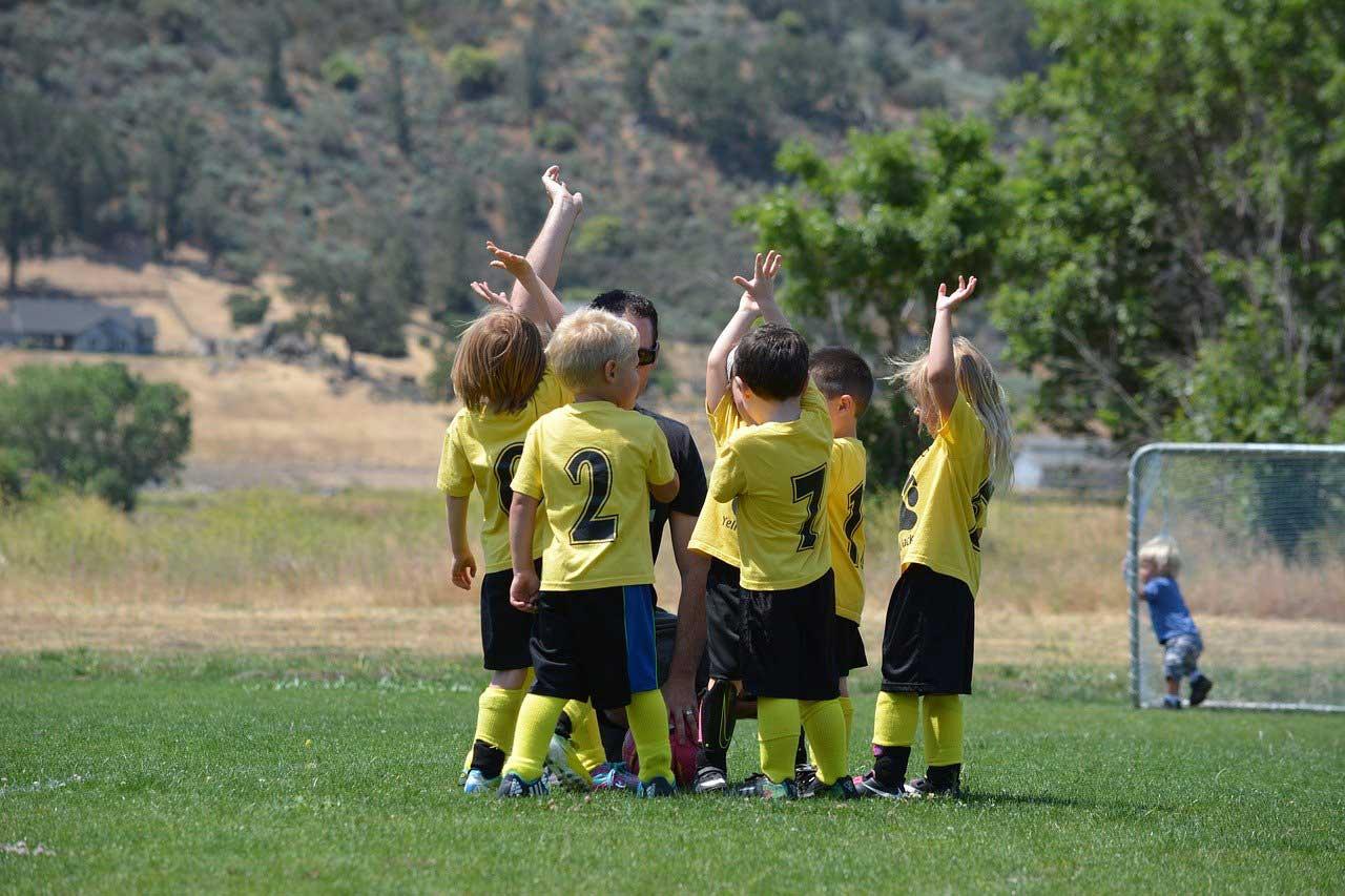 Vereinssport-Fussballkinder