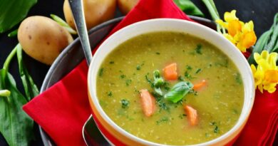 Kaese-Lauch-Suppe