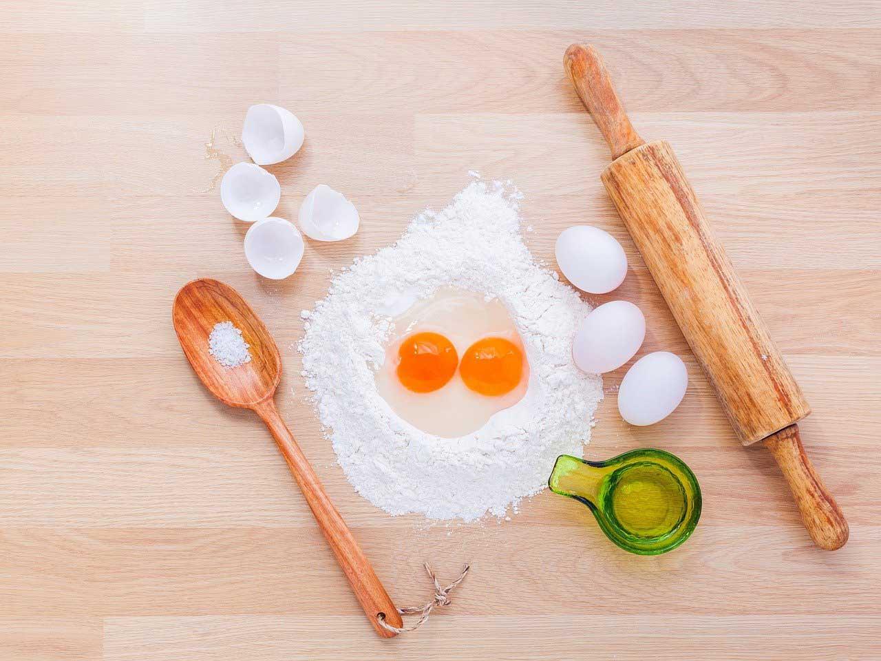 Zutaten für das Käsekuchen Rezept